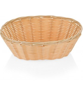 Poly-ratan - košara za kruh oval - 23x17,5 cm