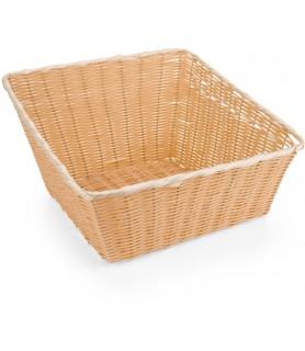 Poly-ratan - košara za kruh 43x43x24 cm