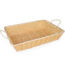 Poly-ratan - košara za kruh 51x35x10 cm