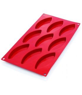 Silikonski pekač ovali 9 kom. 10x4,4x1,5cm