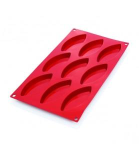 Silikonski pekač ovali 12 kom. 7,2x3x1,5cm