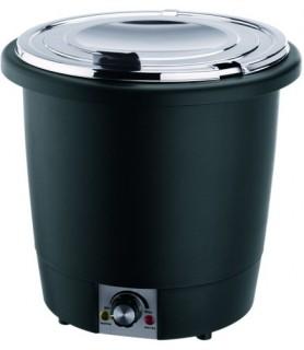 Električni jušni lonec, 10 ltr.,umetna masa/krom-nikelj