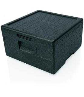 Pizza box črn 41x41x24cm 21 l.