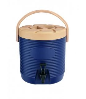 Termo posoda za napitke 12 l. Modra s pipo
