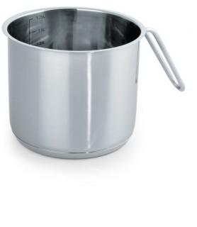 Lonec za kuhanje mleka z merilno lestvico 1,75 l