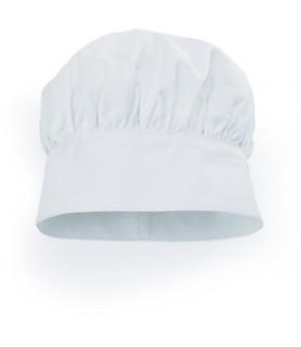 Kuharska kapa bela-bombaž