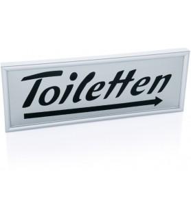 """Oznaka """"toiletten"""" desno"""
