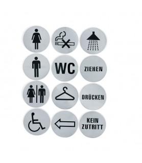 """Oznaka """"wc"""", 7,5 cm"""