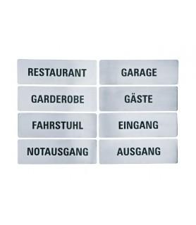 Oznaka, 25,5 x 8 cm - restaurant