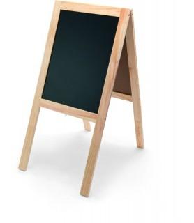 Reklamna tabla dvostranska 104x50 cm