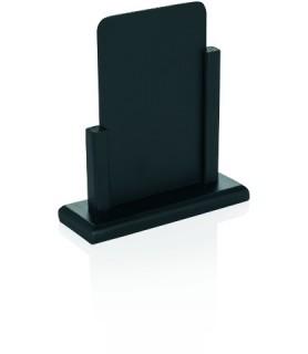 Namizno reklamno stojalo, 21x13,5cm, črn