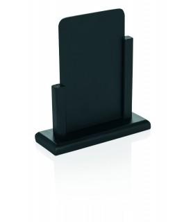 Namizno reklamno stojalo, 26x18,5cm, črn