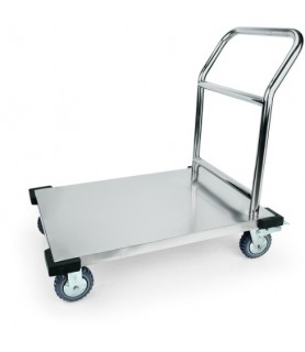Plato voziček 91,5x51x90cm inox