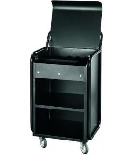 Servirni voziček, 56 x 54 x 99 cm, aluminij