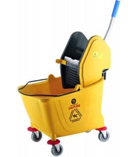 Voziček-vedro  za čiščenje 30 l