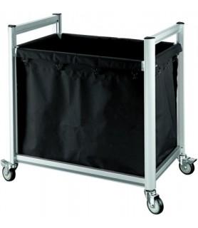 Voziček za perilo, 94 x 65 x 105 cm, aluminij