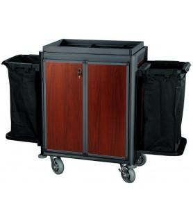 Voziček za soba, 2 vrečki za perilo, 150 x 53 x 116 cm