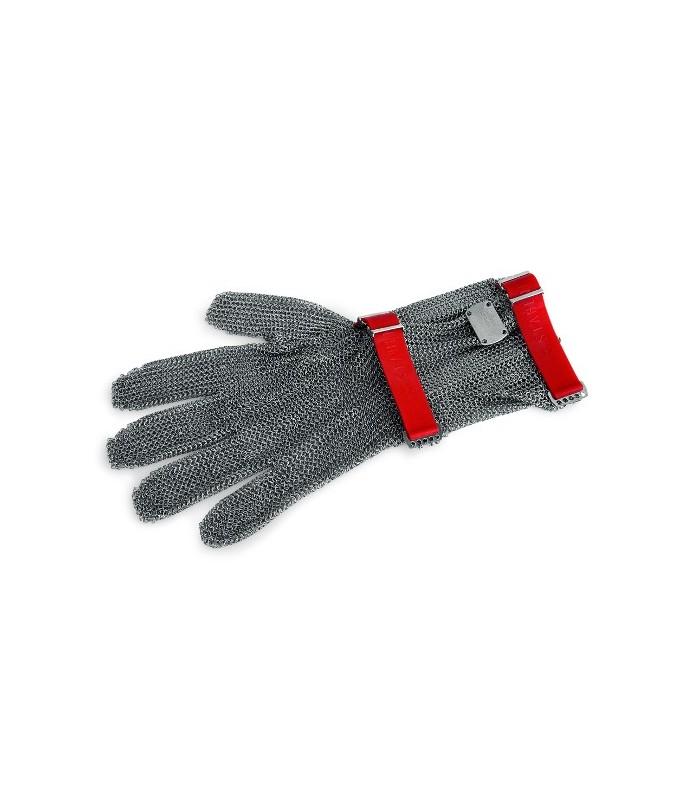 Zaščitna rokavica z manšeto, velikost L, modra,