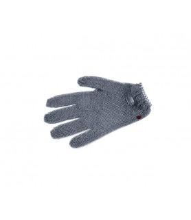 Zaščitna rokavica iz verižice, velikost XL, oranžna, nerjaveče jeklo