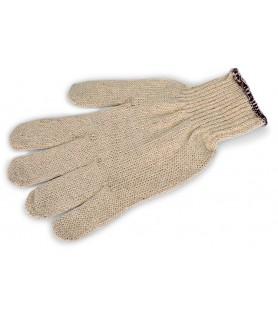 Zaščitna rokavica z elastiko, 25 cm, bombaž