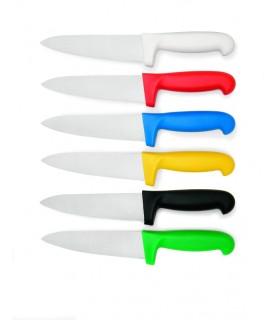 Kuharski nož 18 cm - haccp – rdeč