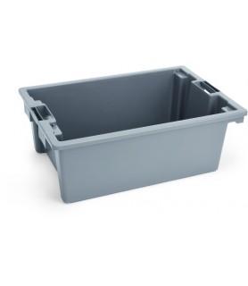 Transportna posoda, siva , 66x45x23 cm