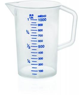 Merilni vrč z merilom, 1,0 l, polipropilen