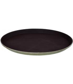 Polyester-pladenj, fi-36 cm, črn
