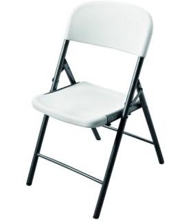 Stol hdpe, bel 47x52x88 cm