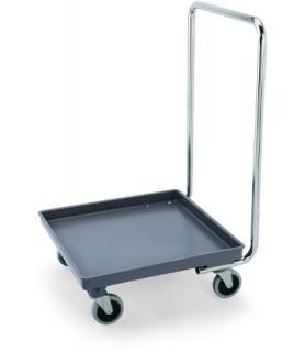 Transportni voziček 50x50cm z ročajem