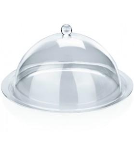 Akril pokrov za krožnik ali ploščo fi-22cm viš.5cm