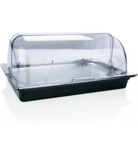 Pladenj gn 1/1 s hladilnimi vložki in roltop pokrovom