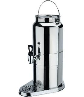 Dispanzer za mlekor, 8 ltr., Krom-nikelj