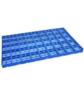 Podstavna plošča za skladišče 100x60x5cm hdpe modra