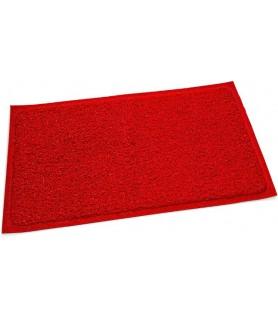 Pvc predpražnik, rdeč - 40 x 60 cm