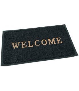 """Pvc predpražnik, siv 60 x 40 cm """"welcome"""""""