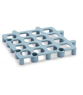 Podstavna plošča za skladišče  siva 33x33x4 cm